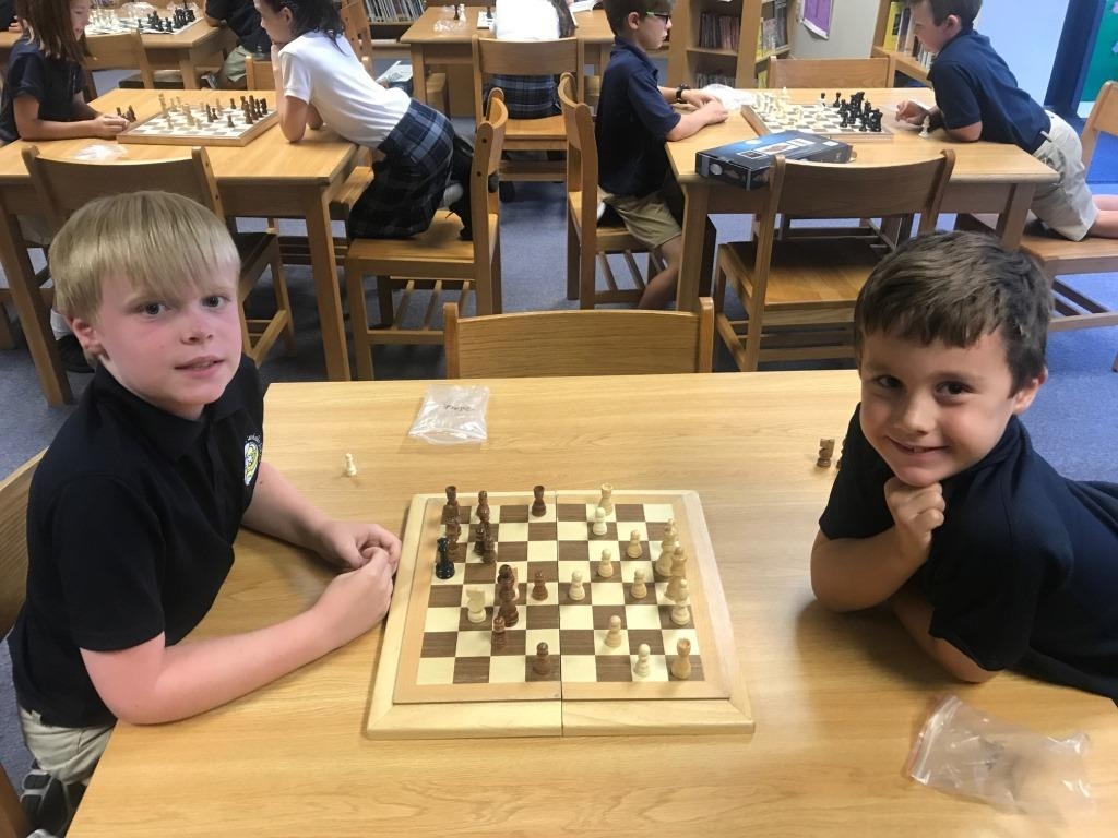 Our Popular Chess Club